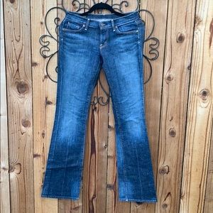 Citizens of Humanity low waist boot cut jeans